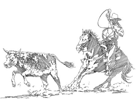 COWBOYS AND CATTLE